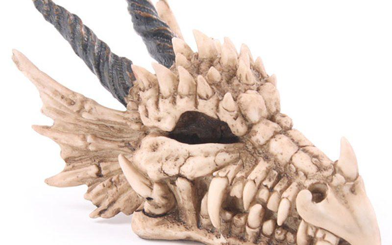 Mealheiro craneo dragão